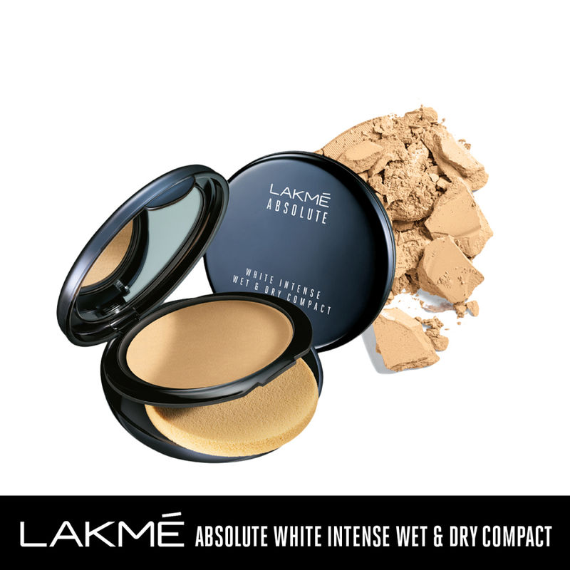 Lakme Absolute Wet & Dry Compact SPF25 - Rose Cream 02