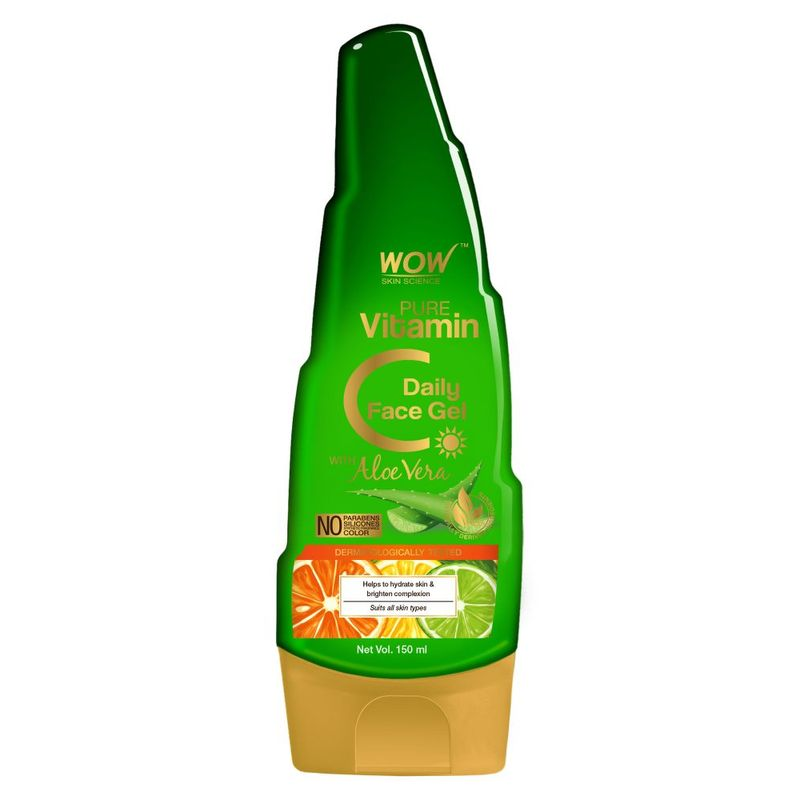 WOW Skin Science Pure Vitamin C Daily Face Gel with Aloe Vera