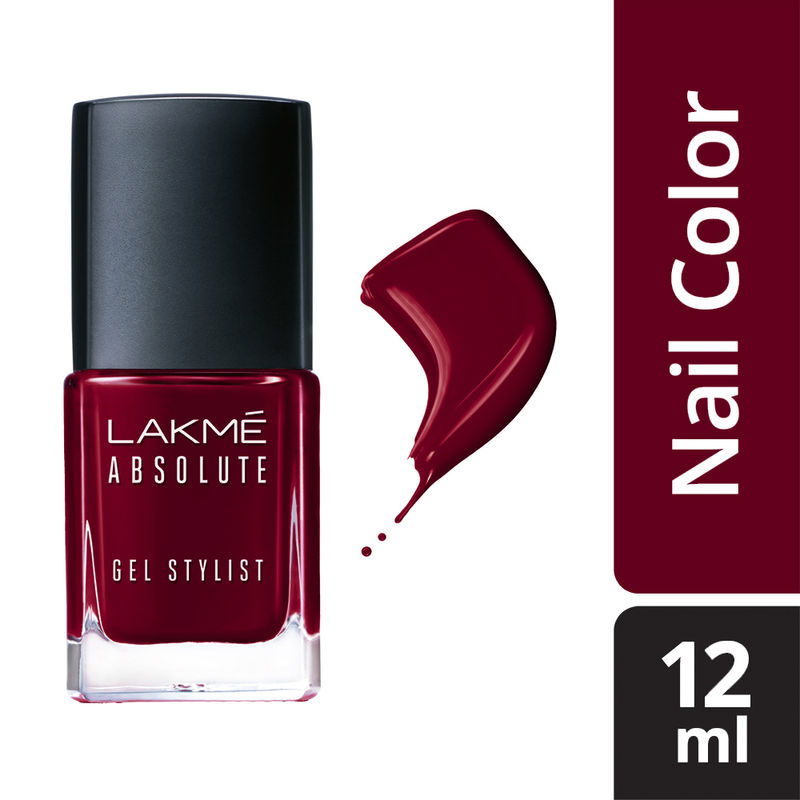 Lakme Absolute Gel Stylist Nail Color - Warrior