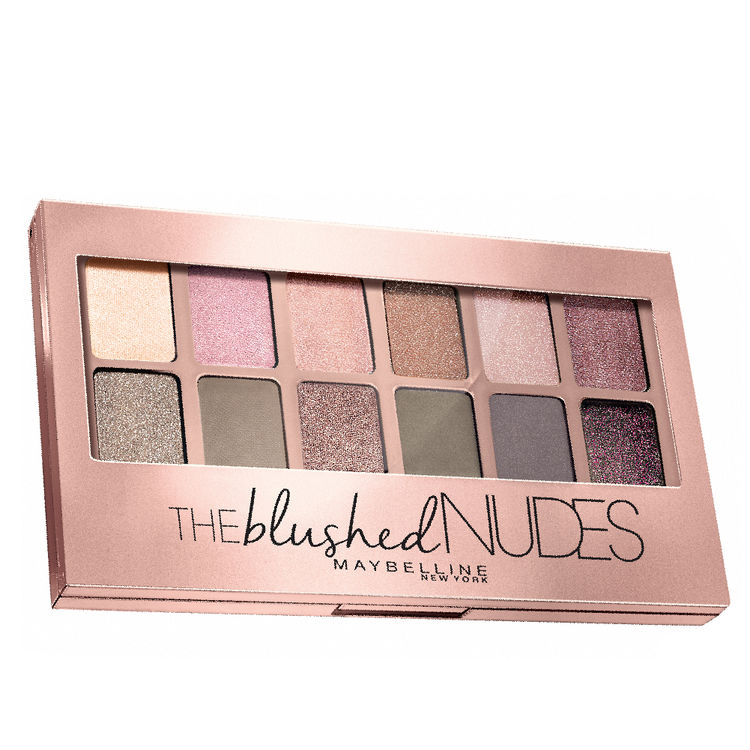 The Blushed Nudes Palette Eyeshadow
