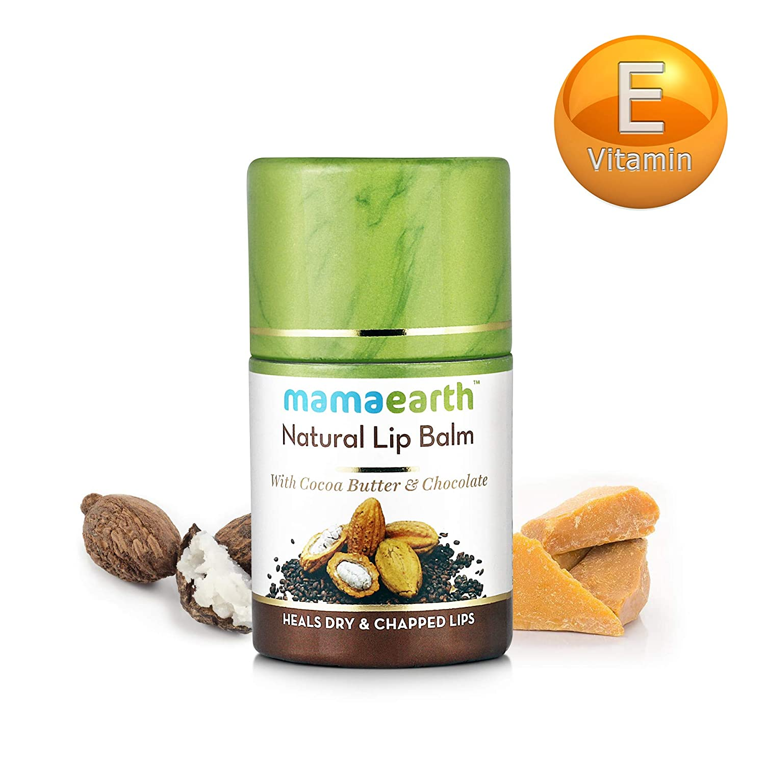 Mamaearth Natural Lip Balm With Cocoa Butter & Chocolate