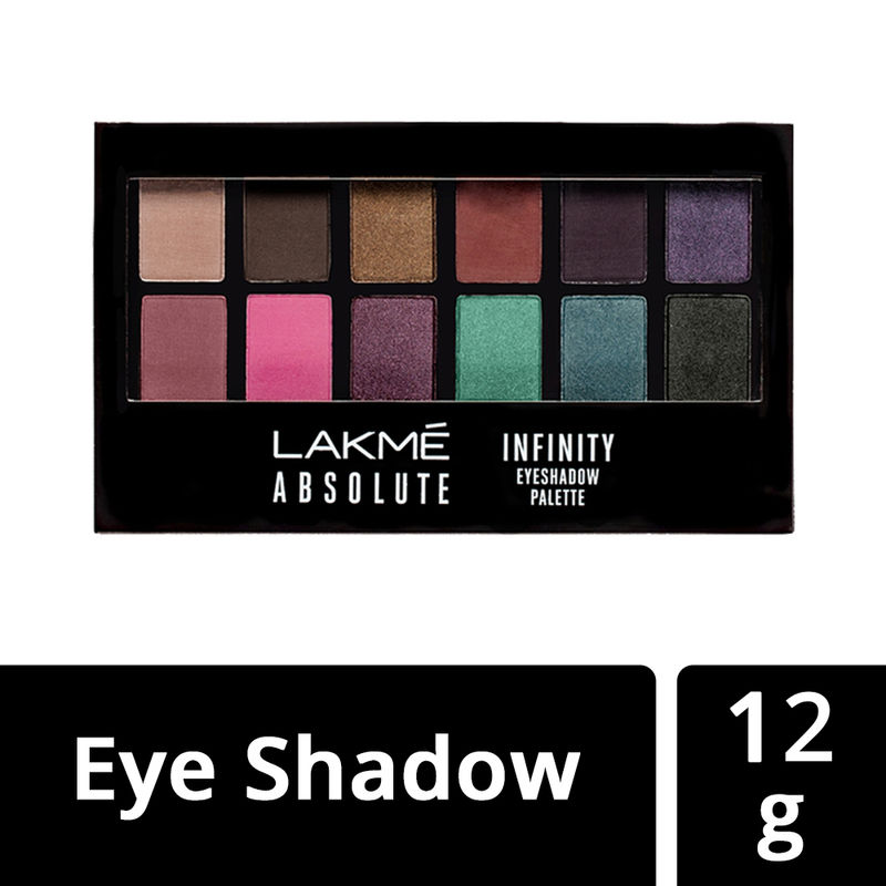 Lakme Absolute Infinity Eye Shadow Palette - Soft Nudes