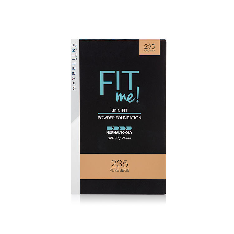Maybelline New York Fit Me Powder Foundation SPF 32 - 235 Pure Beige