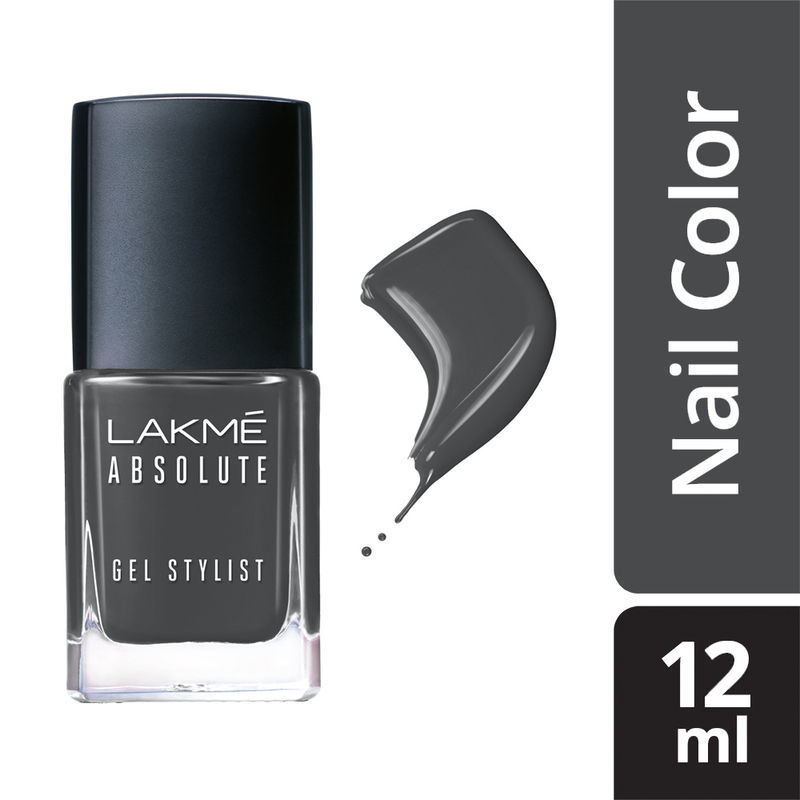 Lakme Absolute Gel Stylist Nail Color - Suit-up