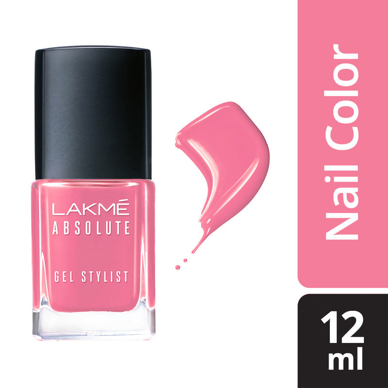 Lakme Absolute Gel Stylist Nail Color - Marshmallow