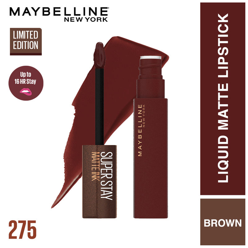 Maybelline New York Superstay Matte Ink Coffee Collection - Mocha Inventor
