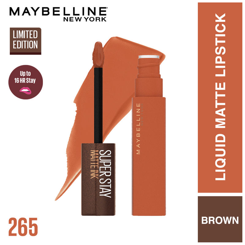 Maybelline New York Superstay Matte Ink Coffee Collection - Caramel Collector
