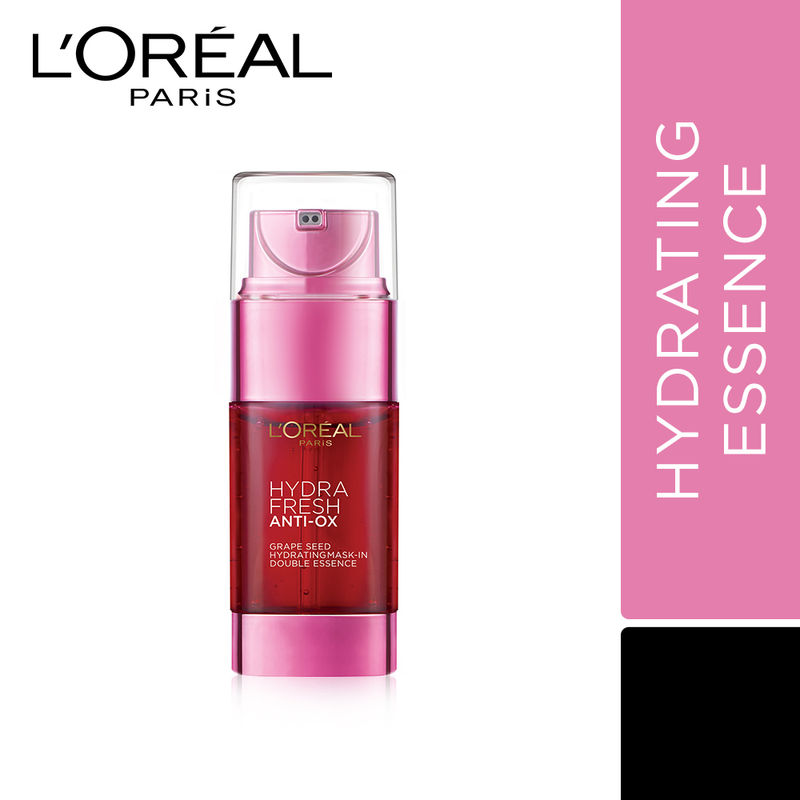 L'Oreal Paris Hydra Fresh Anti-Ox Grape Seed Hydrating Mask-In Double Essence