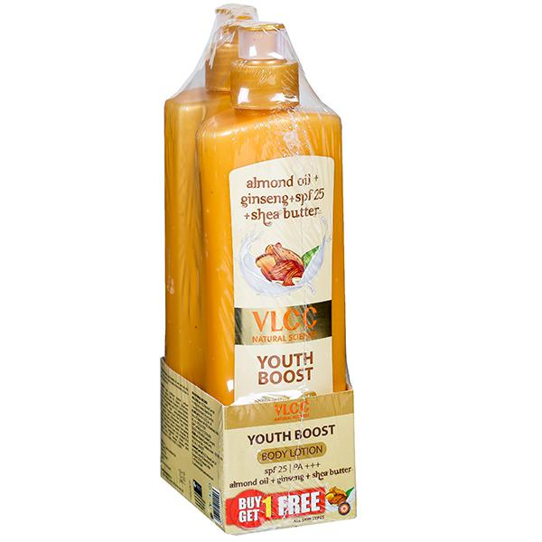 VLCC Youth Boost Body Lotion SPF 25  PA+++30 1+1