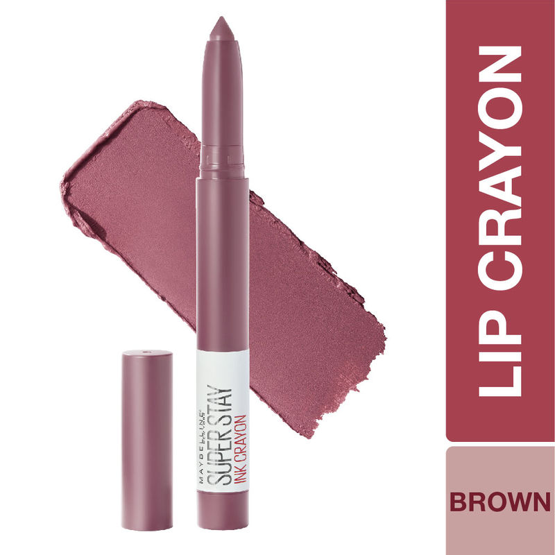 Maybelline New York Super Stay Crayon Lipstick - 25 Stay Exceptional