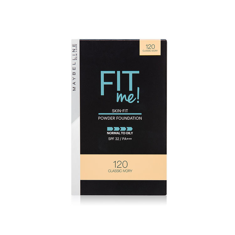 Maybelline New York Fit Me Powder Foundation SPF 32 - 120 Classic Ivory