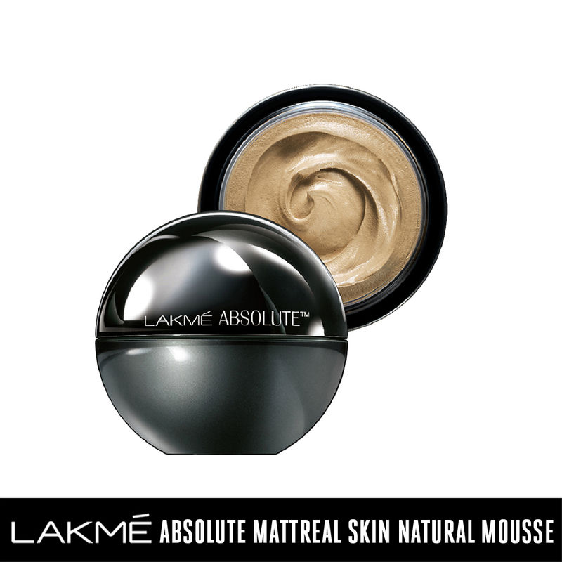 Lakme Absolute Skin Natural Mousse - Ivory Fair 01