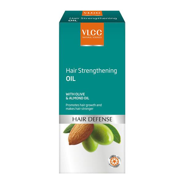Hair Strengthening Oil with Olive & Almond Oil