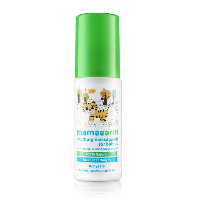 Mamaearth Soothing Massage Oil for Babies