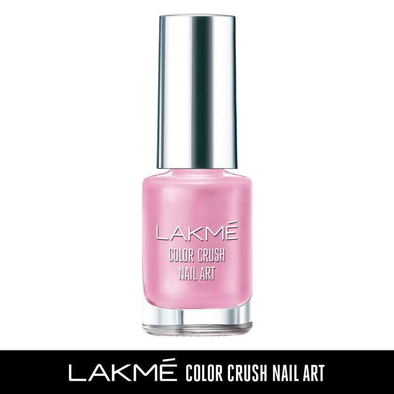 Lakme Color Crush Nail Art - M20 Candy Pink