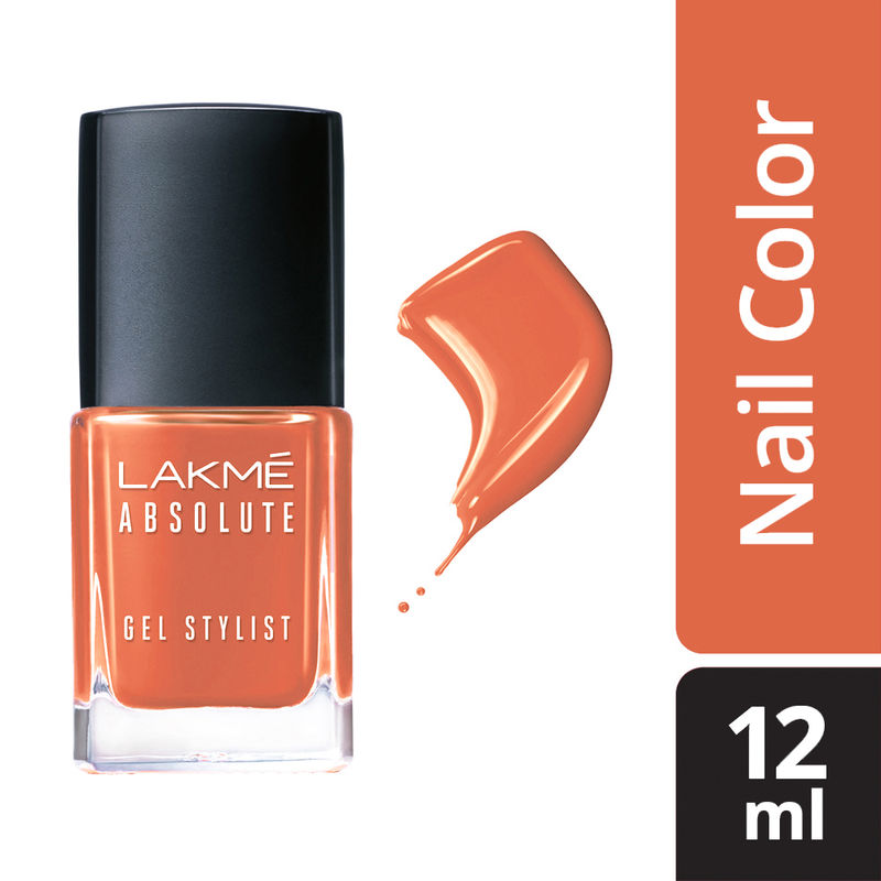 Lakme Absolute Gel Stylist Nail Color - Midsummer
