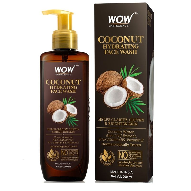 WOW Skin Science Coconut Hydrating Face Wash