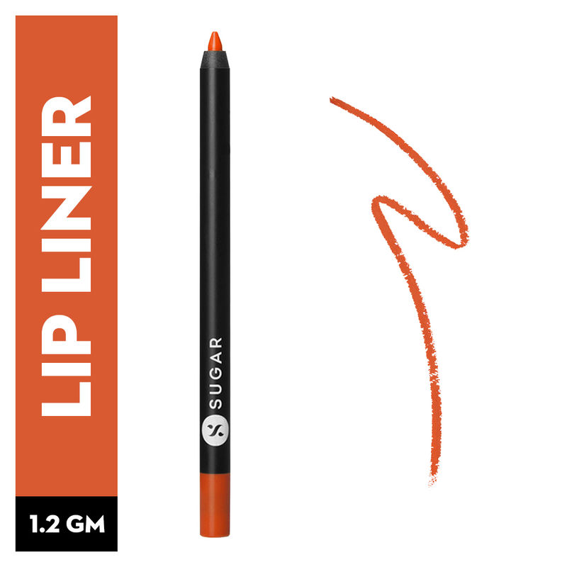 SUGAR Lipping On The Edge Lip Liner With Free Sharpener - 06 Tangerine Queen