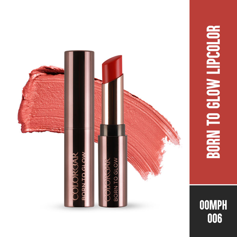 Colorbar Born To Glow Lipcolor - Oomph