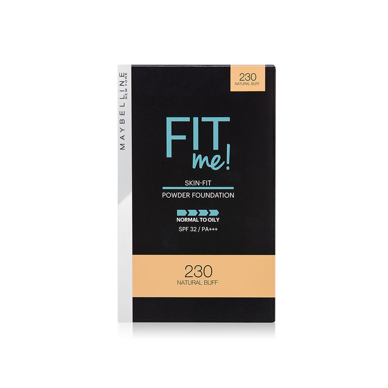 Maybelline New York Fit Me Powder Foundation SPF 32 - 230 Natural Buff