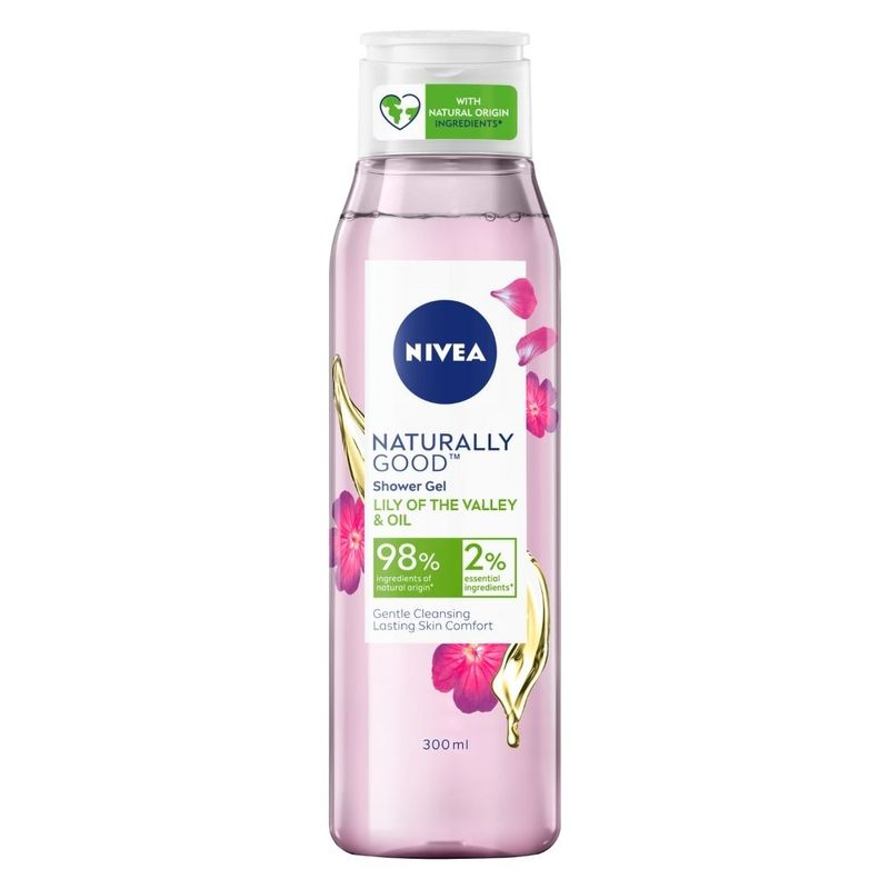 NIVEA Naturally Good Shower Gel - Lily Of The Valley & Oil