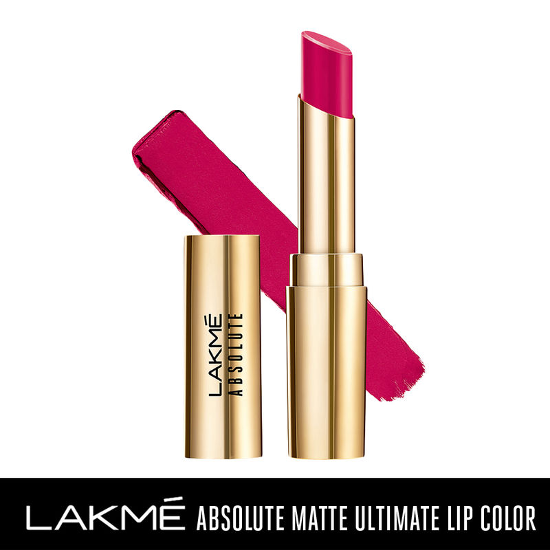 Lakme Absolute Matte Ultimate Lip Color with Argan Oil - Berry Boost