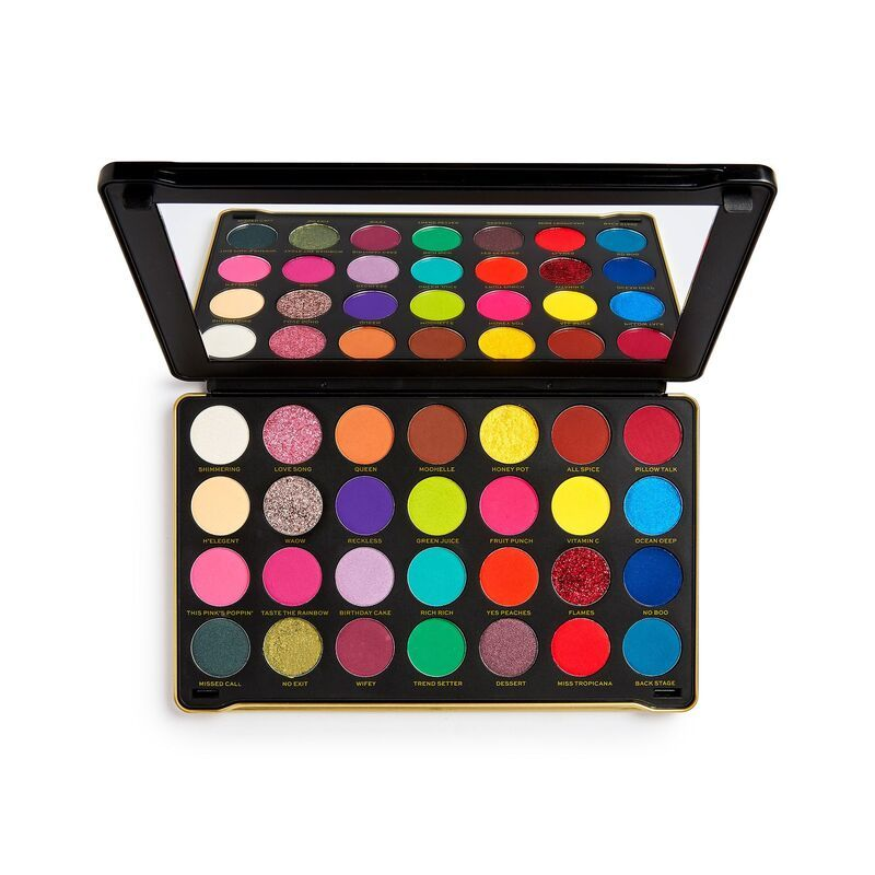 Makeup Revolution X Patricia Bright Rich In Colour Eyeshadow Palette