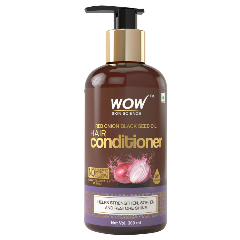 WOW Skin Science Red Onion Black Seed Oil Hair Conditioner