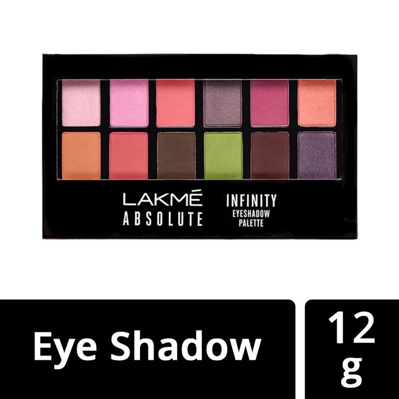 Lakme Absolute Infinity Eye Shadow Palette - Pink Paradise