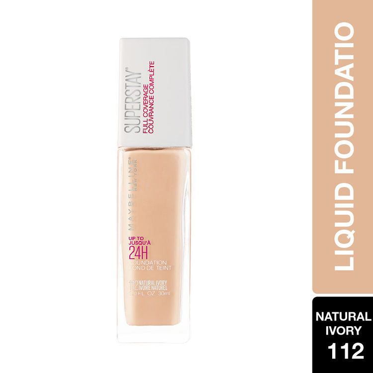 Maybelline New York Super Stay Full Coverage Foundation - Natural Ivory 112