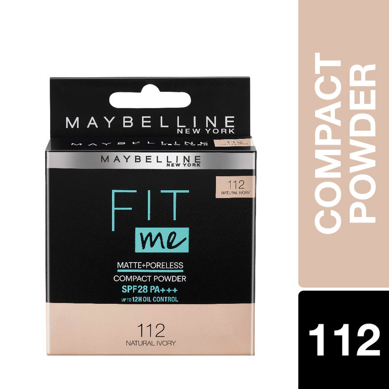 Maybelline New York Fit Me Compact SPF 28 PA+++ - 112 Natural Ivory