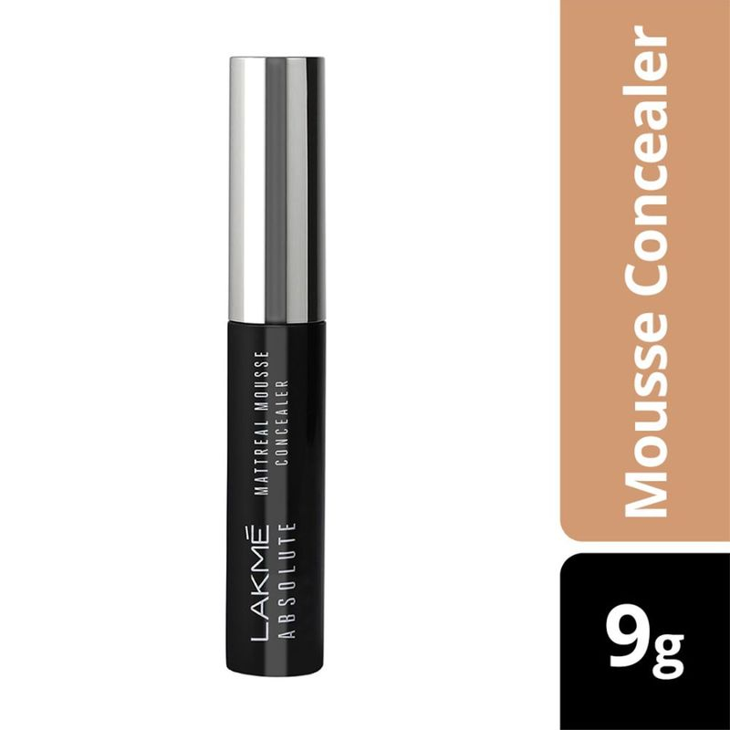 Lakme Absolute Mattreal Mousse Concealer - 02 Natural