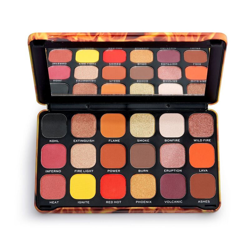 Makeup Revolution Forever Flawless Fire Eyeshadow Palette