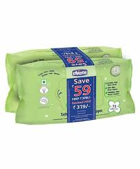 Soft Cleansing Wipes ( Pack of 2 )