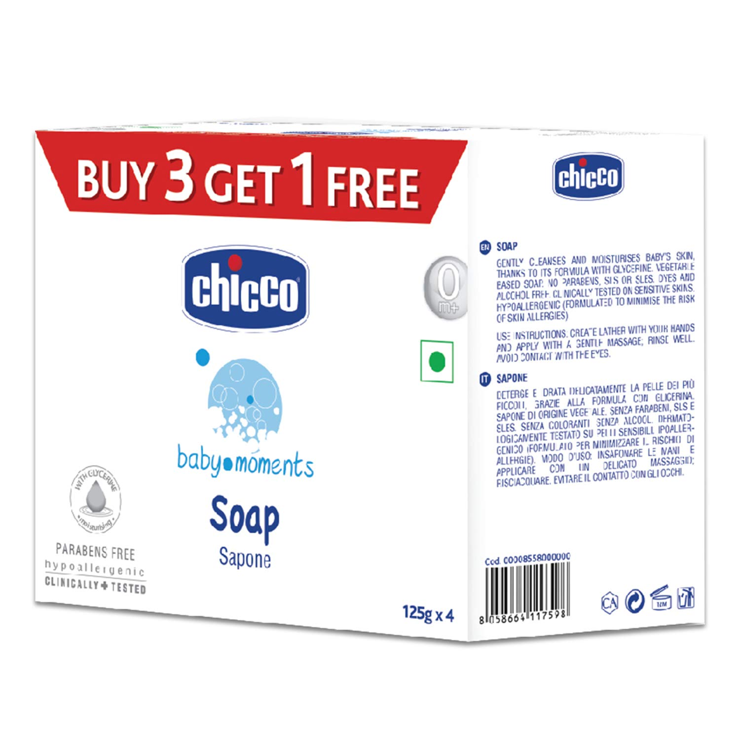Soap Sapone ( Pack of 4 )