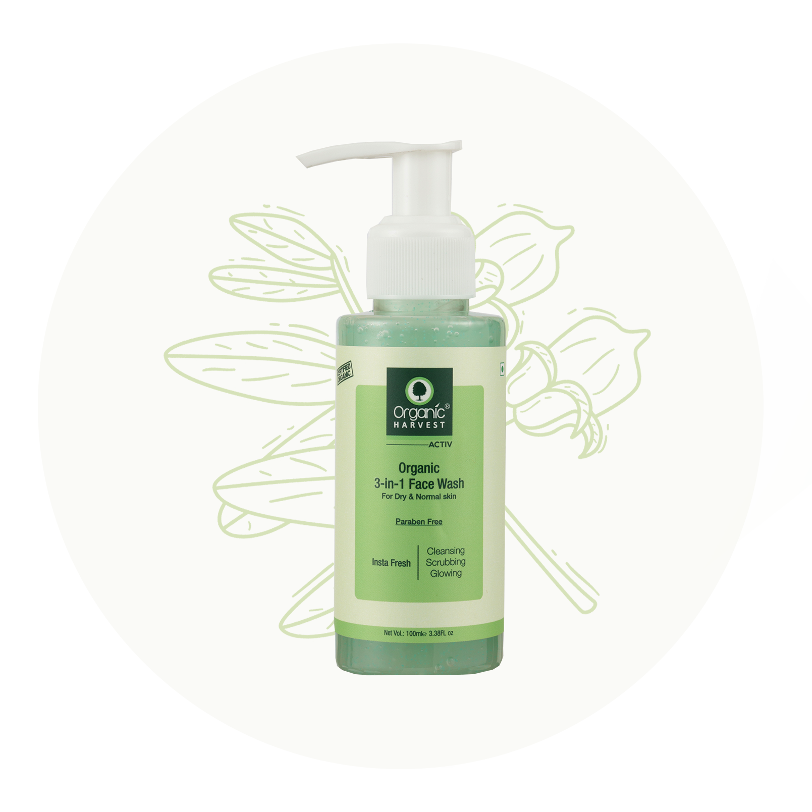 3-in-1 Face Wash for Dry Skin