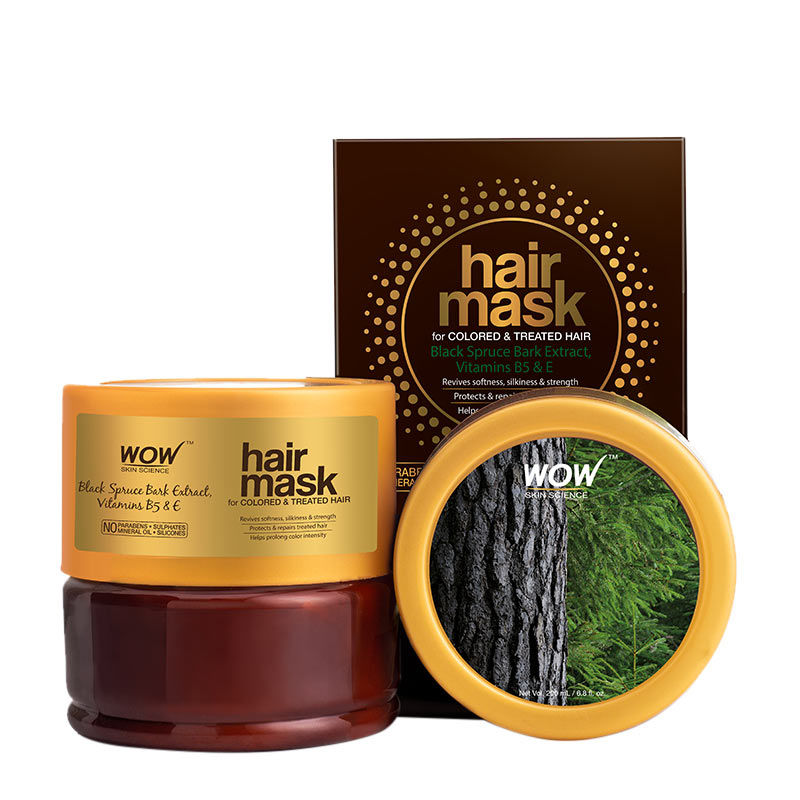 WOW Skin Science Hair Mask For Coloured and Treated Hair