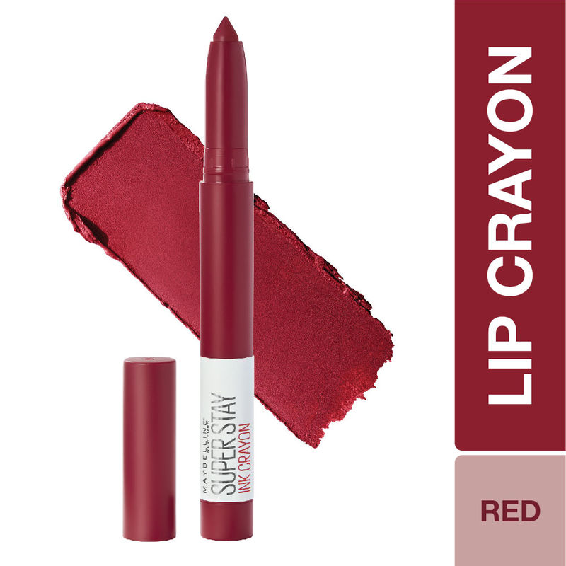 Maybelline New York Super Stay Crayon Lipstick - 50 Own your Empire