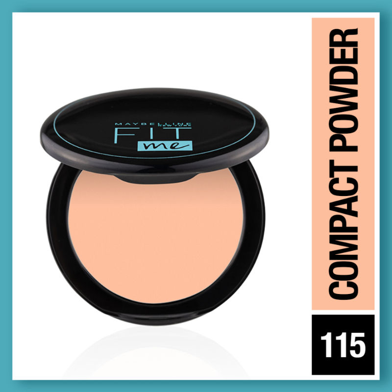 Maybelline New York Fit Me 12hr Oil Control Compact - Ivory