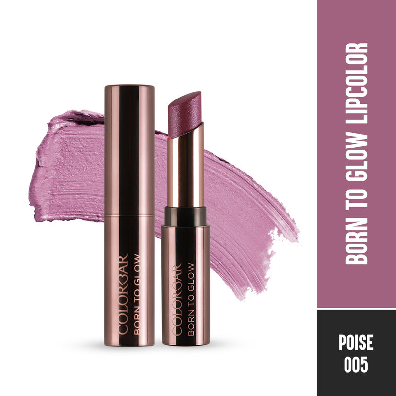 Colorbar Born To Glow Lipcolor - Poise
