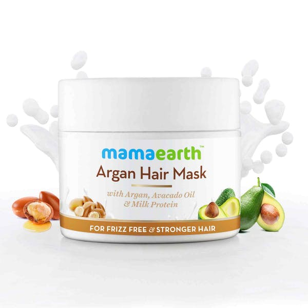 Argan Hair Mask For Frizz Free & Strong Hair