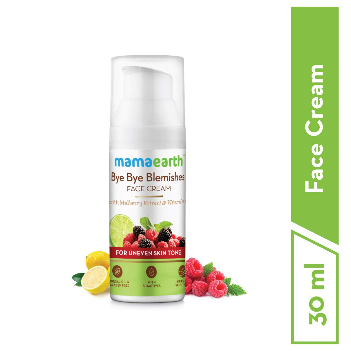 Bye Bye Blemishes Face Cream - With Mulberry Extract & Vitamin C for uneven skin tone