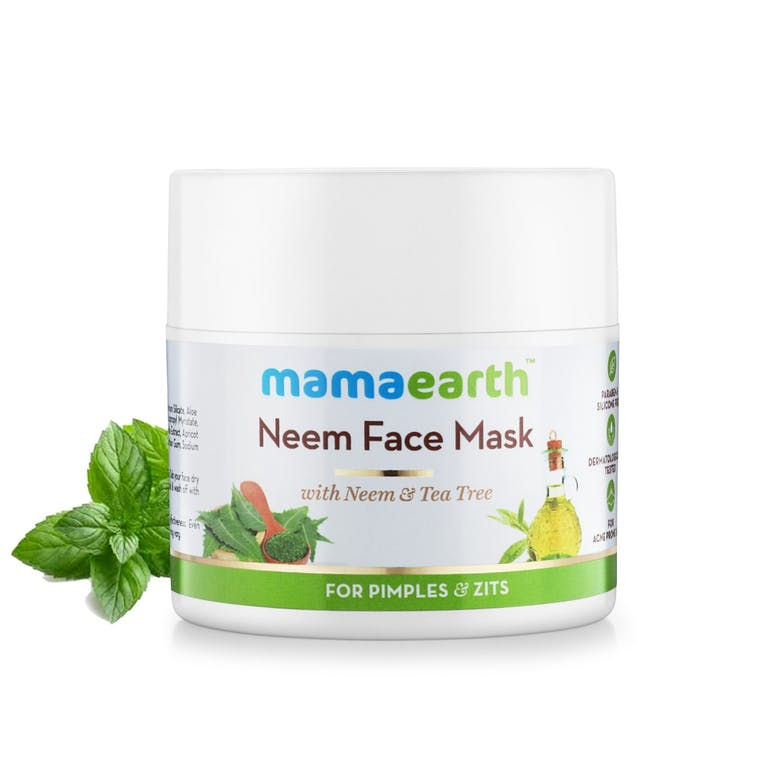 Neem Face Mask For Pimple & Zits