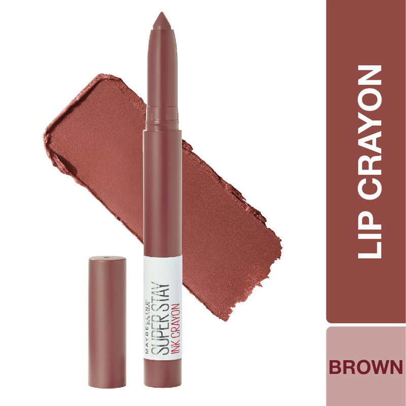 Maybelline New York Super Stay Crayon Lipstick - 20 Enjoy the View
