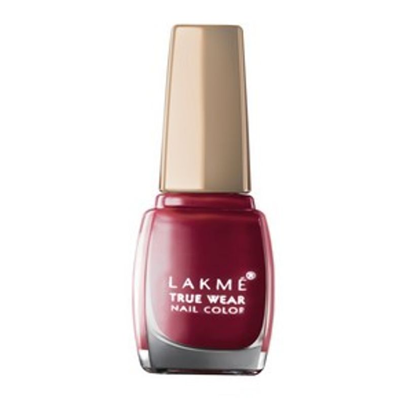 Lakme True Wear Nail Color - 401 Reds Maroons