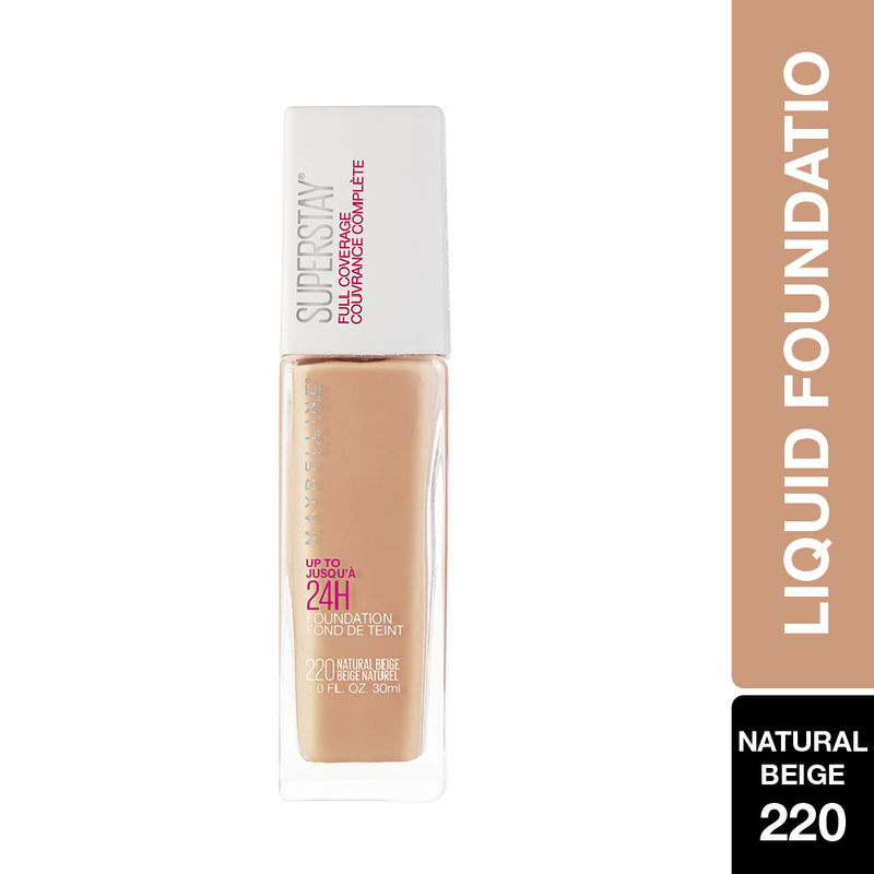 Maybelline New York Super Stay Full Coverage Foundation - Natural Beige 220
