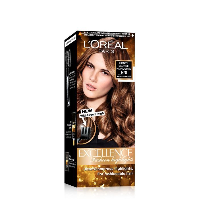 L'Oreal Paris Excellence Fashion Highlights Hair Color With Expert Brush - Honey Blonde