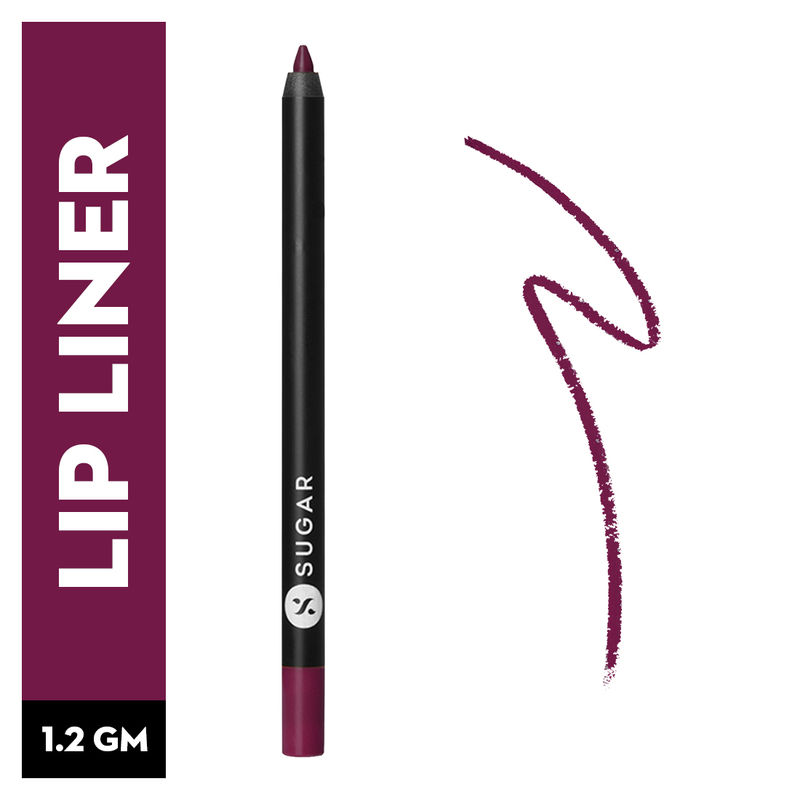 SUGAR Lipping On The Edge Lip Liner With Free Sharpener - 07 Fiery Berry