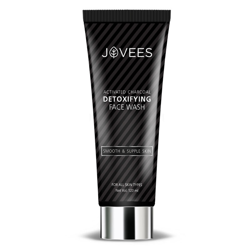 Jovees Activated Charcoal Detoxifying Face Wash