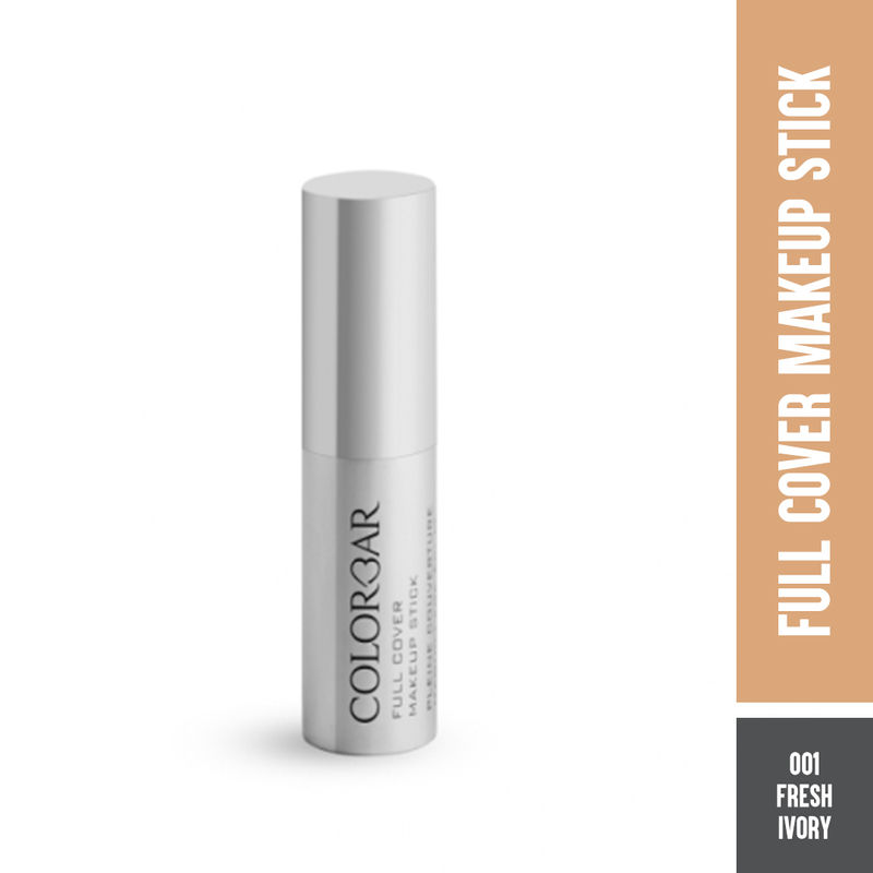 Colorbar Full Cover Makeup Stick SPF 30 - 001 Fresh Ivory